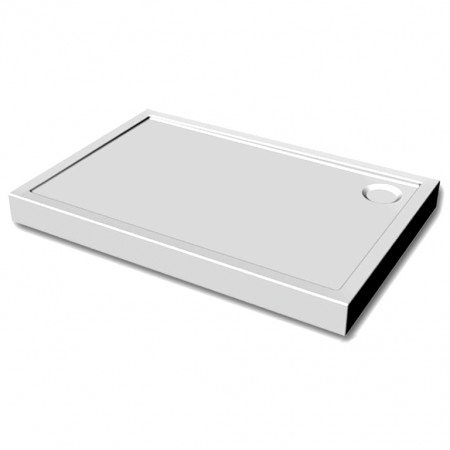 FLAT RECTANGULAR SHOWER GRATE